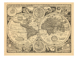 1676, World Giclee Print