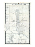 1878, Newcastle, Colborne Harbour, Hilton, Codrington, Verno Village, Warkworth, Canada Giclee Print