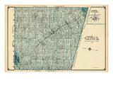 1906, Arthur Township, Kenilworth Village, Canada Giclee Print