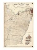 1879, Nepean Township Giclee Print