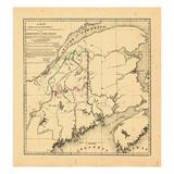 1840, Maine, Canada Giclee Print