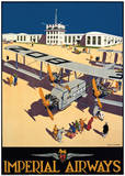 Imperial Airways City of Wellington Posters tekijänä Harold Mccready