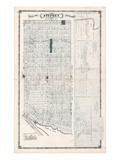 1879, Stephen Township, Harpurhey, Crediton, Canada Giclee Print