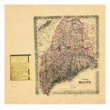 1876, Maine Giclee Print