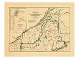1846, Maine, New Brunswick, Quebec Giclee Print