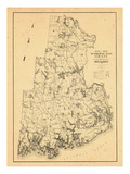 1931, Washington County, Maine Giclee Print