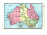 1906, Australia Giclee Print