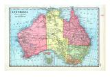 1906, Australia Giclee Print