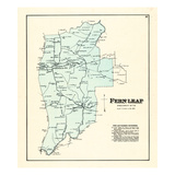 1876, Fern Leaf, Kentucky, United States Giclee Print