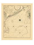 1798, A CHART/OF THE/COAST OF NEW ENGLAND/From the/SOUTH SHOAL TO CAPE SABLE/INCLUDING/GEORGES BANK Giclee Print