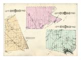 1881, Sunnidale, Vespra, and North Orillia, Canada Giclee Print
