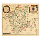 1673, Worchester, United Kingdom Giclee Print