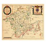 1673, Worchester, United Kingdom Gicléetryck