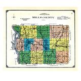 1913, Mills County, Iowa, United States Giclee Print