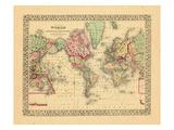 1867, World Giclee Print