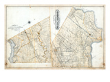 1879, Moulton and Sherbrooke Townships, Canborough Township, Canada Giclee Print
