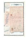 1878, Cramahe Township, Orono, Burnley Village, Canada Giclee Print