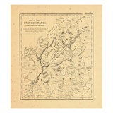 1840, Maine, Quebec Giclee Print