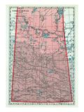 1928, Saskatchewan Province, Canada Giclee Print