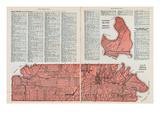 1928, Lot No. 13, Lennox Island - Prince County, Canada Giclee Print
