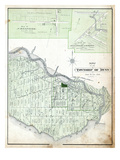 1879, Dunn Township, Cheapside, Hullsville or Garnet, Canada Giclee Print
