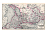 1879, Ontario Province, Canada Giclee Print