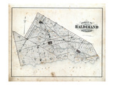 1879, Haldimand County Map, Canada Giclee Print