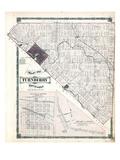 1879, Turnberry Township, Gorrie Village, Annan Village, Canada Giclee Print