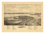 1896, Lubec, Maine Giclee Print