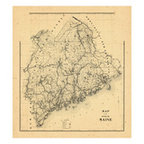 1905, Maine Giclee Print