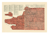 1928, Lots No. 57, 58 - Queens County, Canada Giclee Print