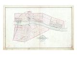 1879, Caledonia Village, Canada Giclee Print