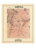 1882, Greenville Town, Maine, United States Giclee Print
