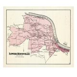 1876, Lower Maysville, Kentucky, United States Giclee Print