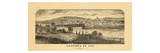 1870, Augusta, Maine 1823 Giclee Print