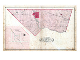 1879, North Cayuga Township, Azoff Village, Canada Giclee Print
