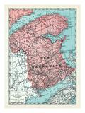 1928, New Brunswick Province, Canada Giclee Print