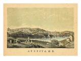 1854, Augusta, Maine Giclee Print