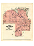 1883, Hartland Town, Maine, United States Giclee Print
