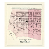 1876, Maysville - Wards 2 and 3, Kentucky, United States Giclee Print