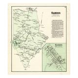 1876, Sardis, Kentucky, United States Giclee Print