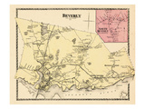 1872, Beverly, North Beverly, Massachusetts, United States Giclee Print