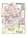 1870, Rutland, Rutland Center, Rutland West, West Rutland, Massachusetts, United States Giclee Print