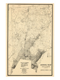 1937, Stamford Town, Connecticut, United States Giclee Print