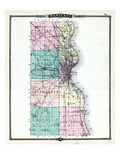 1881, Milwaukee County, Wisconsin, United States Giclee Print
