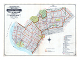 Brooklyn Map Giclee Print