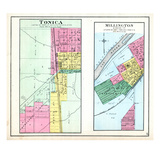 1892, Tonica, Millington, Illinois, United States Giclee Print