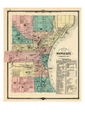 1881, Milwaukee City, Wisconsin, United States Giclee Print