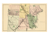 1877, Glenwood Plantation, Haynesville, Orient, Reed Plantation, Bancroft Plantation Giclee Print