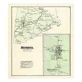 1876, Minerva, Kentucky, United States Giclee Print